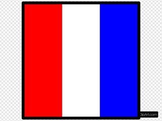 Signal Flag Tango SVG Clipart