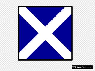 Maritime Signal Flag Mike