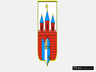 Bydgoszcz Coat Of Arms SVG Clipart