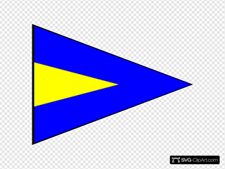 International Maritime Signal Flag Repeat 1