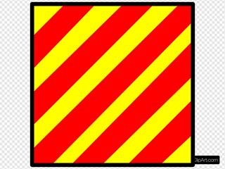 Signal Flag Yankee SVG Clipart