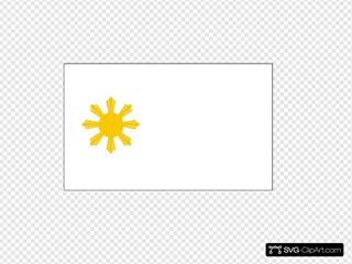 Philippine Flag Sun