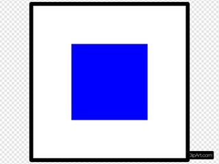 Signal Flag Sierra SVG Clipart