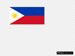 Philippine Flag Vector Template