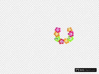 Hibiscus Flowers Lei