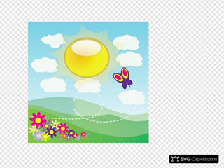 Sunshine 2 SVG Clipart