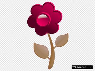 Pink Flower Cute