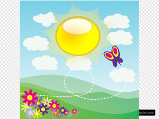 Sunshine SVG Clipart
