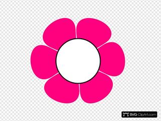 1 Pink  Flower