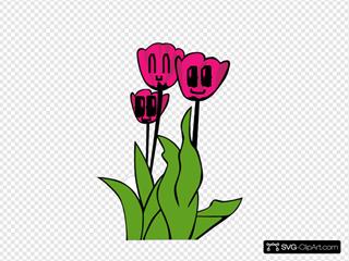 The Flower Family SVG Clipart