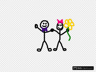 Stick Figure Kids/friends