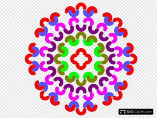 Colorful Flower Decoration