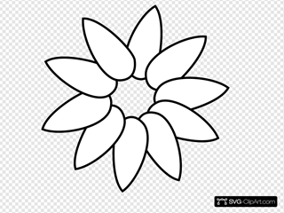 First Layer Flower Petals