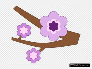 Purple Flower 16