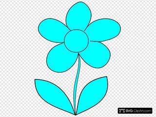 Murray Blue Flower