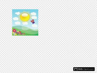 Sunshine 4 SVG Clipart