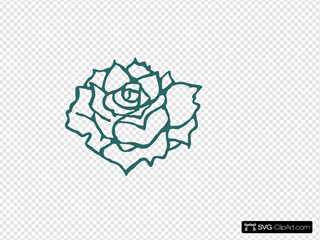 Rose SVG Clipart