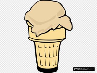 Ice Cream Cone (1 Scoop)