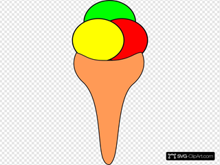 Bescuit Cone Icecream