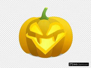Evil Jack O' Lantern