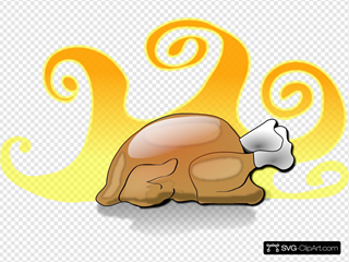 Hot Thanksgiving Turkey