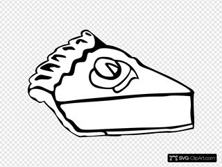 Pumpkin Pie (b And W)