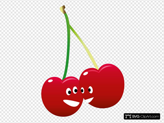 Pair Of Talking Cherries
