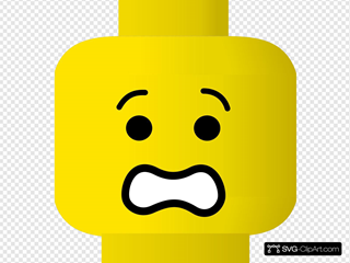 Lego Smiley Scared