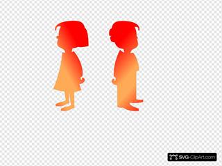 Figures Boy And Girl 2