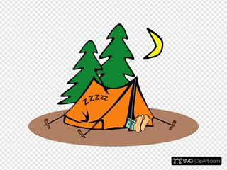 Camper Sleeping