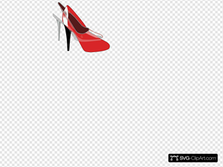 Red Patent Leather Shoe