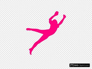 Dina, Girl, Jumper, Pink