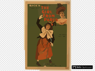 Rice S Production Of The Latest London Novelty, The Girl From Paris Written By George Dance ; Music By Ivan Caryll.