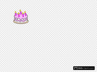 Girl S Birthday Cake