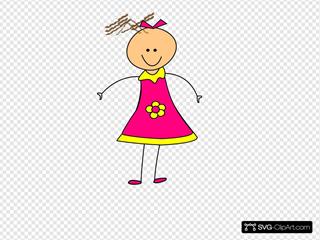 Happy Girl Pink