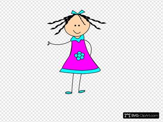 Little Happy Girl