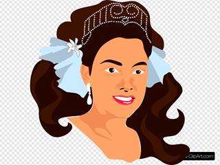 Princess Wearing Crown