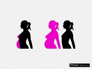 Pregnancy Silhouette 4