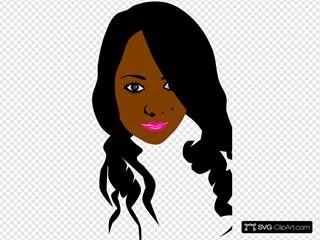 African Can American Girl.