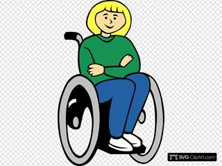 Handicapped Girl