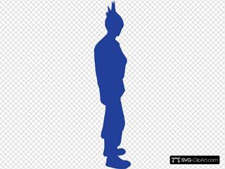 Punk SVG Clipart