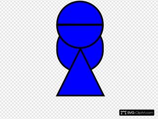 Blue Girl Gook