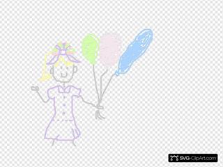 Girl SVG Clipart