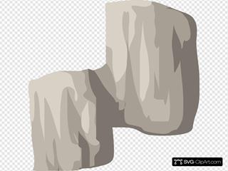 Alpine Landscape Cliff Face Bandaid Highlight