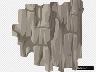 Alpine Landscape Cliff Side Shadow Vertical Ledge