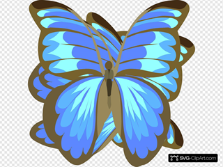 Swoonerfly SVG Clipart