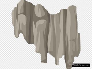 Alpine Landscape Cliff Face Bandaid Topper