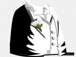 Chaulkywhite Coatshirtvest