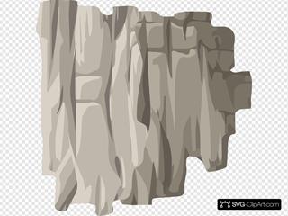 Alpine Landscape Cliff Side Highlight Vertical Ledge
