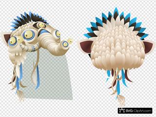 Humbaba Mask